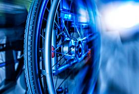 pannensichere Rollstuhlbereifung